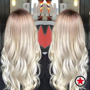 Gorgeous silver blonde by Kristina