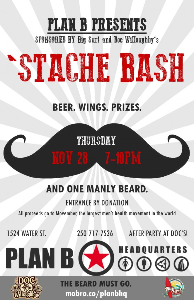 Read more on PLAN B Presents 'Stache Bash