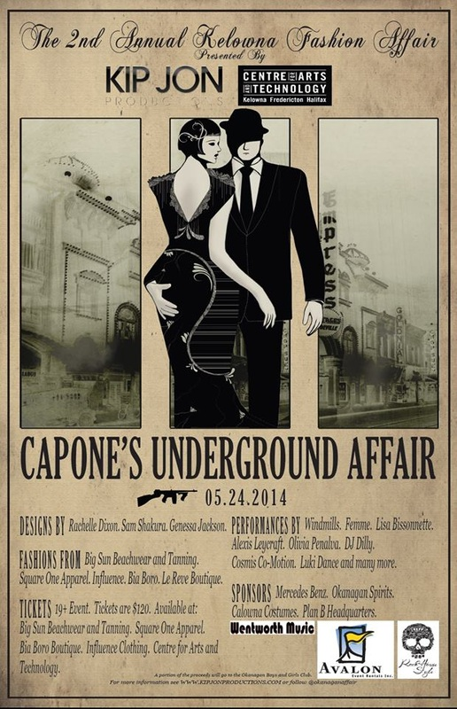 Capone's Underground Affair coming May 24th