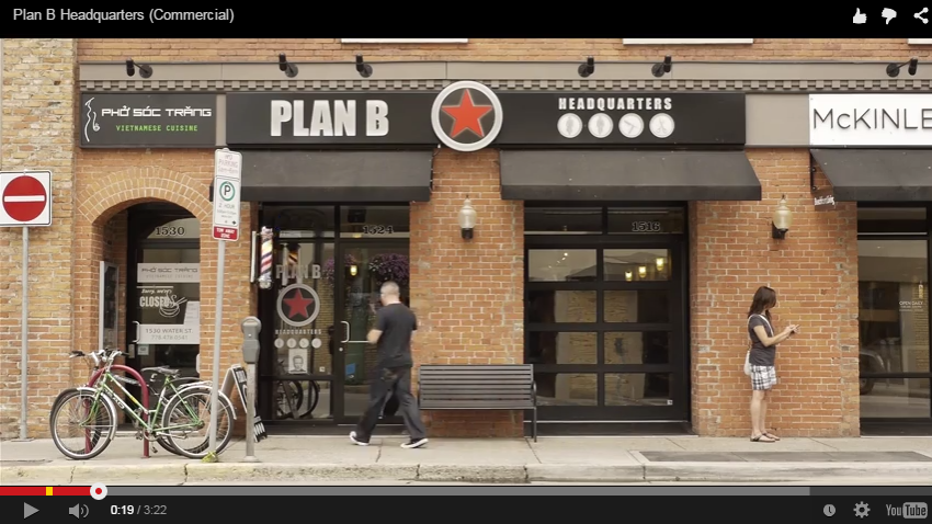 Spotlight Video Features PLAN B Headquarters' Shop and Services