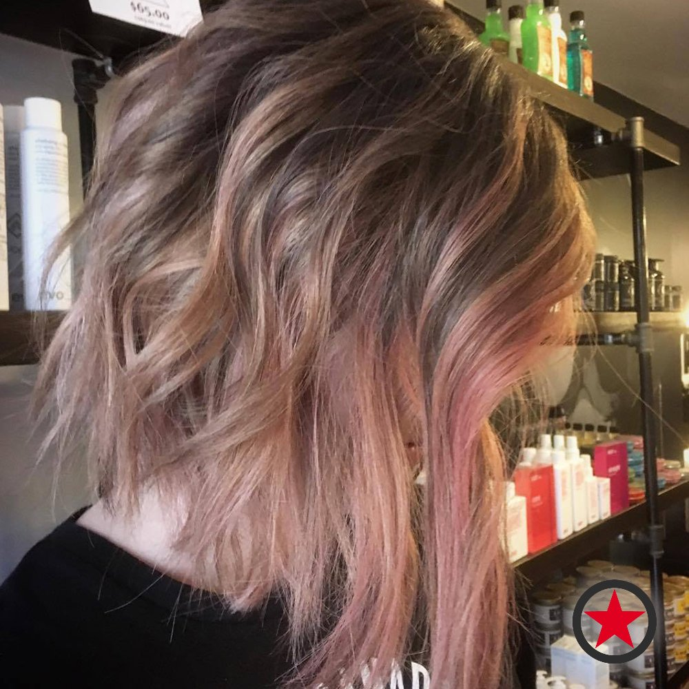 Kelowna Hair Salon | Plan B | Rosy Pink Balayage by Jenna