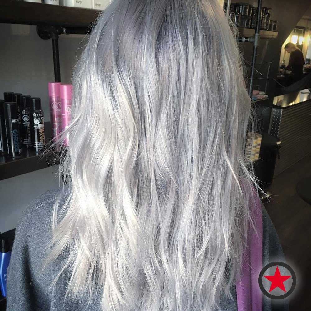 Kelowna Hair Salon | Plan B | Silver Blonde by Jenna