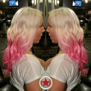 Pink Balayage by Jenna at Plan B kelowna Hair Salon