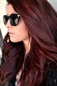 Plan B Kelowna Hair Salon merlot hair