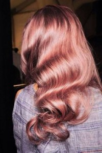 Plan B Kelowna Hair Salon rose gold hair