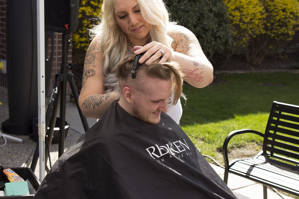 Kelowna Hair Salon - Plan B supports cuts for a cure - Losing length for a good cause