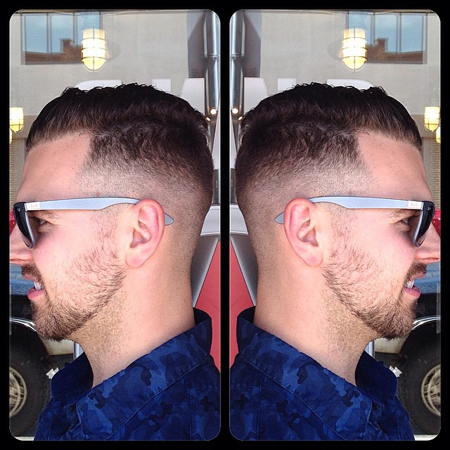 Kelowna Hair Salon Plan B - Mens fade haircut