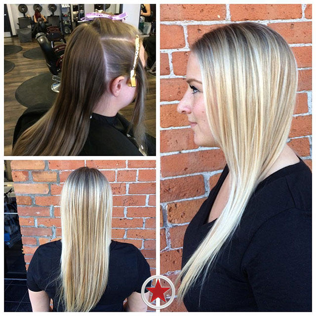 Beautiful Olaplex blonde by Jess at Kelowna Hair Salon Plan B