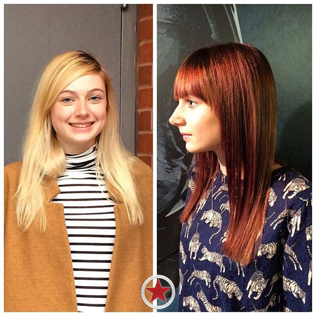 Before & After Hair Transformation by Jess at Kelowna Hair Salon Plan B