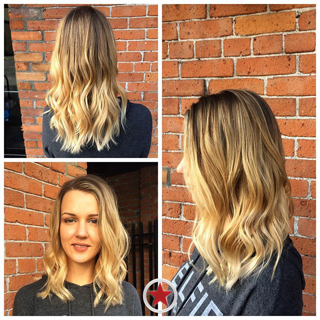Blonde Balayage by Jess at Kelowna Hair Salon Plan B