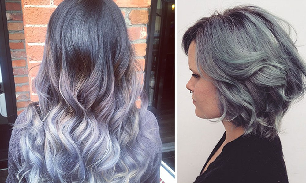 The Silver Fox: Grey Hair Trends 2016