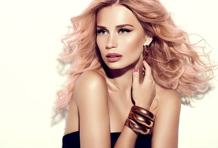 Colour trends: Nude Hair & Rose Gold