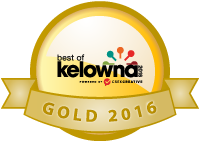 Best of Kelowna 2015 Gold