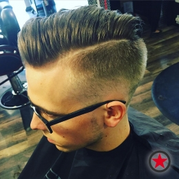 Plan B Kelowna hair salon | mens haircut by Terri