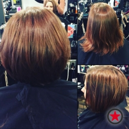 Plan B Kelowna hair salon | Sculpted bob haircut by Terri