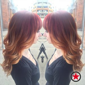 Plan B Kelowna Hair Salon | Pumpkin Spice & Ginger inspired hair colour by Brigette