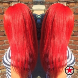 Plan B Kelowna Hair Salon | Amazing Ariel inspired red hair by Brigette