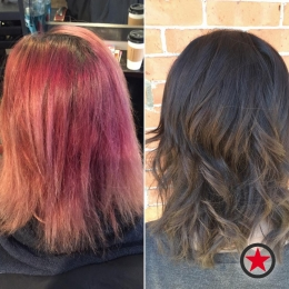 Plan B Kelowna hair salon | Colour transformation by Courtney M