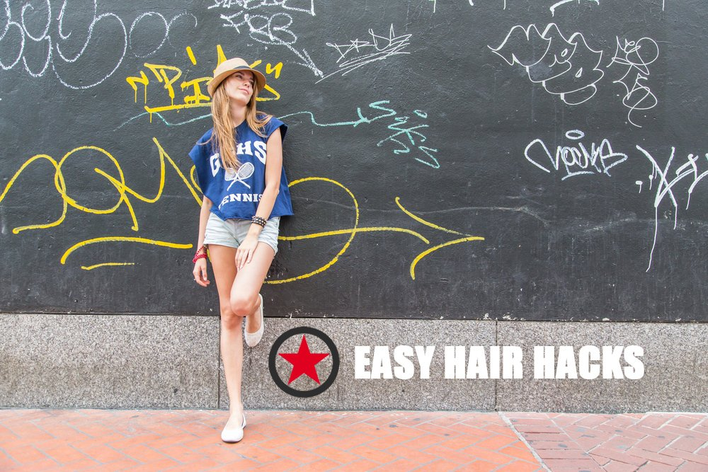 Easy Hair Hacks for Back to School