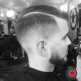 Plan B Kelowna hair salon | Fade haircut & beard trim by Heavy D