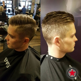 Plan B Kelowna Hair Salon | Men's hair cut by Kim