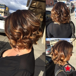 Plan B Kelowna Hair Salon | Lovely copper balayage by Terri Maxwell