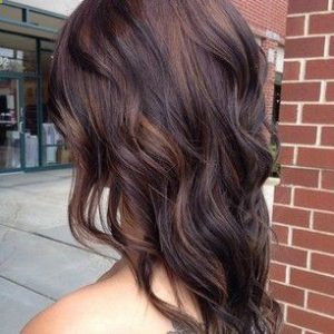 Fall Brunette | Plan B Kelowna Barbershop Hair Salon