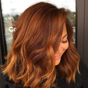 Pumpkin Spice Hair | Plan B Kelowna Barbershop Hair Salon