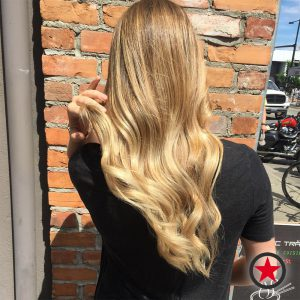 Plan B Kelowna Hair Salon | Blonde balayage hair colour by Cara