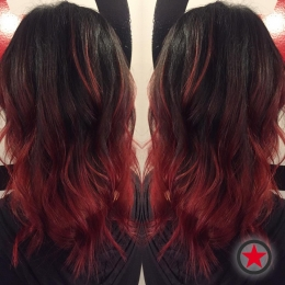 Plan B Kelowna Hair Salon | Red Balayage by Brigette