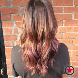 Plan B Kelowna Hair Salon | Rose Gold Balayage by Jess
