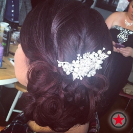 Plan B Kelowna Hair Salon | Bridal Updo by Terri