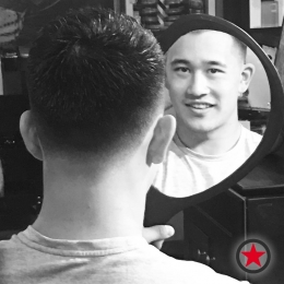 Plan B Kelowna Hair Salon | Men's Haircut by Heavy D the Barber