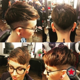 Plan B Kelowna Hair Salon | Short pixie undercut