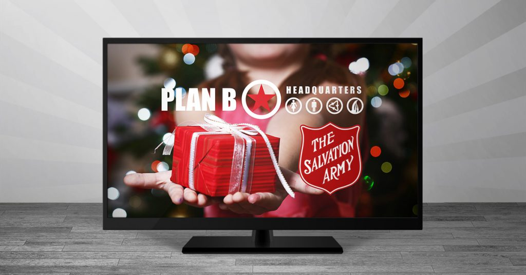 Share Christmas and you could win a TV!