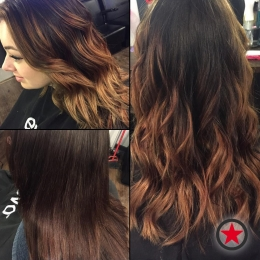 Plan B Kelowna Hair Salon | Golden brunette balayage by Terri