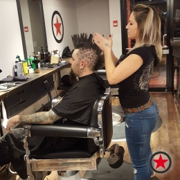 Plan B Kelowna Barbershop | Wicked Hair Tattoo and Mohawk by Kim