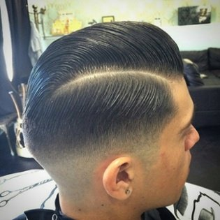 Kelowna Hair Salon & Barbershop Plan B | Style a sidepart with Layrite pomade
