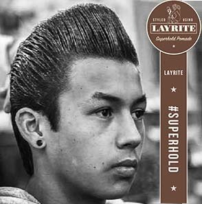 Kelowna Hair Salon & Barbershop Plan B | Classic Pomp style with Layrite pomade