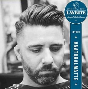 Kelowna Hair Salon & Barbershop Plan B | Loose Pomp styles with Layrite pomade
