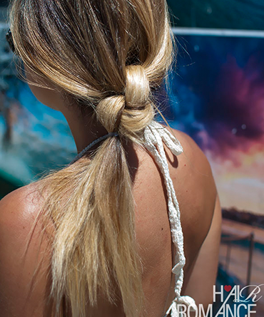 Kelowna Hair Salon | Plan B | knotted ponytail