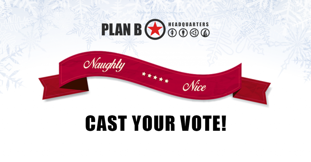 Holiday 2017 Contest Poll: Are You Naughty or Nice?