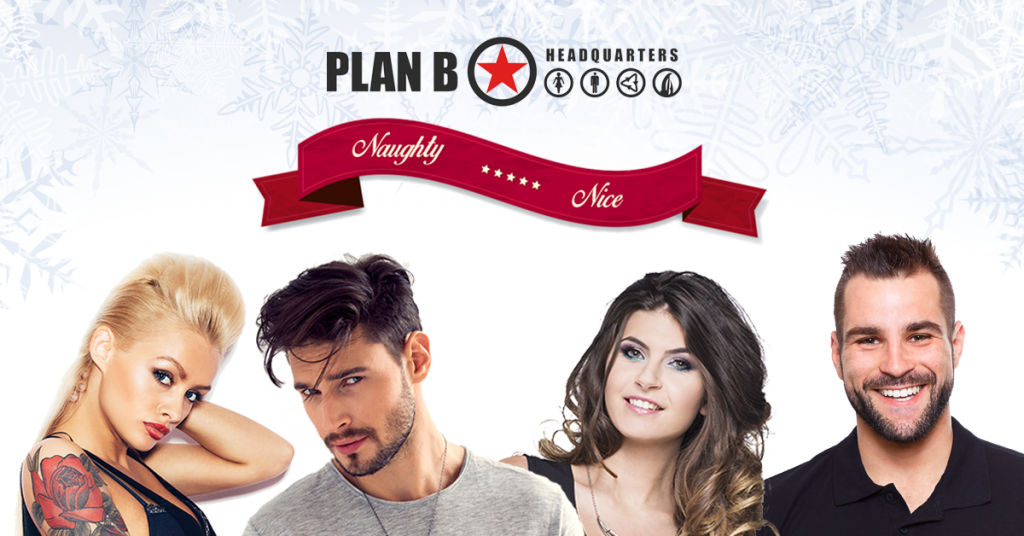 Are you naughty or nice? | Kelowna Hair Salon | Plan B HQ
